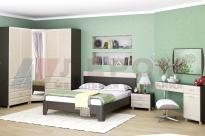 Спальня Мелисса 6 (Дуб Венге/Дуб Беленый)