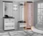 Прихожая Камелия Шкаф с зеркалом 6 (482х425х2100)