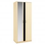 Монте СБ-1795 Шкаф 2-х дверный с 1 зеркалом (917х2243х579)