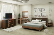 Спальня Камелия 7 (Слива Валлис-Комбинированный)