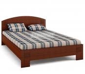 Кровать универсальная Сити вишня барселона СБ-1876 (2045х854х1460) спальное место 1400х2000