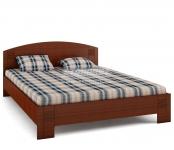 Кровать универсальная Сити вишня барселона СБ-1877 (2045х854х1660) спальное место 1600х2000