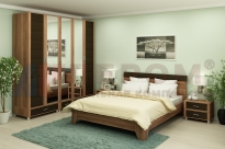 Спальня Камелия 8 (Слива Валлис-Комбинированный)