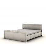 Кровать без основания Венеция дуб ривер СБ-1292 (1660х2071х825) спальное место 1600х2000