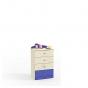 Денди синий СБ-1414 Комод (590х1036х451)