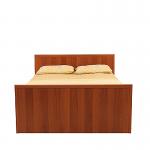 Кровать без основания Джорджия итальянский орех СБ-1032 (2069х773х1348) спальное место 1200х2000