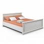 Версаль белый ясень СБ-2054 Кровать без основания (1691х865х2108) спальное место 1600 х 2000