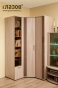 Berlin 7 Шкаф для белья (шоколад глянец) (400х2125х590)