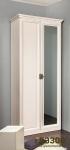 Монтпельер Шкаф для одежды 2 с зеркалом (дуб млечный) (878(800)х2237(2197)х640(601))