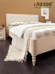 Монтпельер Кровать 2 (дуб млечный) (1695х1032х2076) спальное место 1600х2000