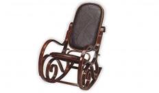 Кресло-качалка RC-8001 (Эко кожа БЛЭК ПАЗЛ (черный))