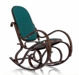Кресло-качалка RC-8001 (Ткань РОЯЛ ГРИН (зеленый))