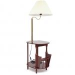 Столик-газетница с лампой SR-075-LP (вишня)