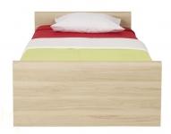 Инди Кровать с ортопедическим основанием бук татра 975х2065х495/795 спальное место 900/2000