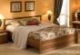 Милана Кровать 2 (орех) (1566х800х2034) спальное место 1400х2000