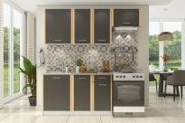 Кухня «Бланка» СТЛ.094.00 (Белый/Венге)