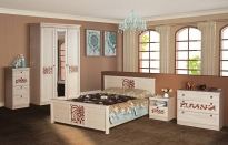 Спальня Инна Доп. комплектация в цвете: денвер светлый