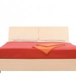Кровать без основания Гретта вишня барселона СБ-209 (2390х849х1725) спальное место 1600х2000
