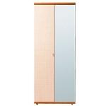 Гретта вишня барселона СБ-636 Шкаф 2-х дверный (900х2241х580)