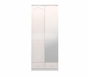 Амалия СБ-990 Шкаф 2-х дверный с зеркалом (правый) (900х2229х584)