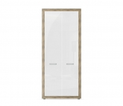 Марсель ночь марино (белый) СБ-1067 Шкаф для одежды(900х2080х575)