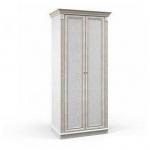 Версаль белый ясень СБ-2045  Шкаф 2-х дверный (995х2183х627)