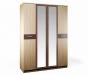 Клео СБ-2006 Шкаф 4-х дверный с зеркалом (1600х2226х579)