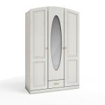 Кристина СБ-1862 Шкаф 3-х дверный с зеркалом (1350х2132х559)