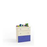 Денди синий СБ-1413 Комод (786х1036х451)