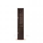 Вива венге СБ-644 Пенал с витриной (450х2251х365)