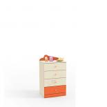 Денди оранжевый СБ-1414 Комод (590х1036х451)