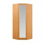 Джорджия ольха СБ-101 Шкаф угловой с зеркалом (930х2235х930)