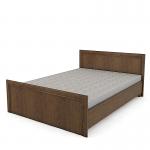 Кровать без основания Венеция вишня эльба СБ-1292 (1660х2071х825) спальное место 1600х2000