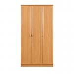 Джорджия ольха СБ-041 Шкаф 3-х дверный (1200х2235х590)