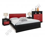 Модульная спальня Марсель (дуб феррара/бордо)